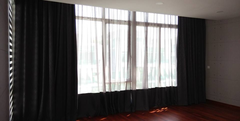 motorised curtains in Dubai